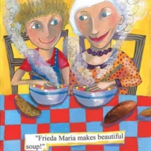 Frieda Maria and Grandma